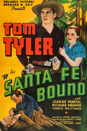 Santa Fe Bound Poster