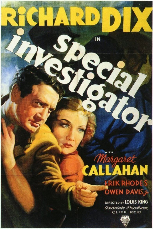 Special Investigator Poster