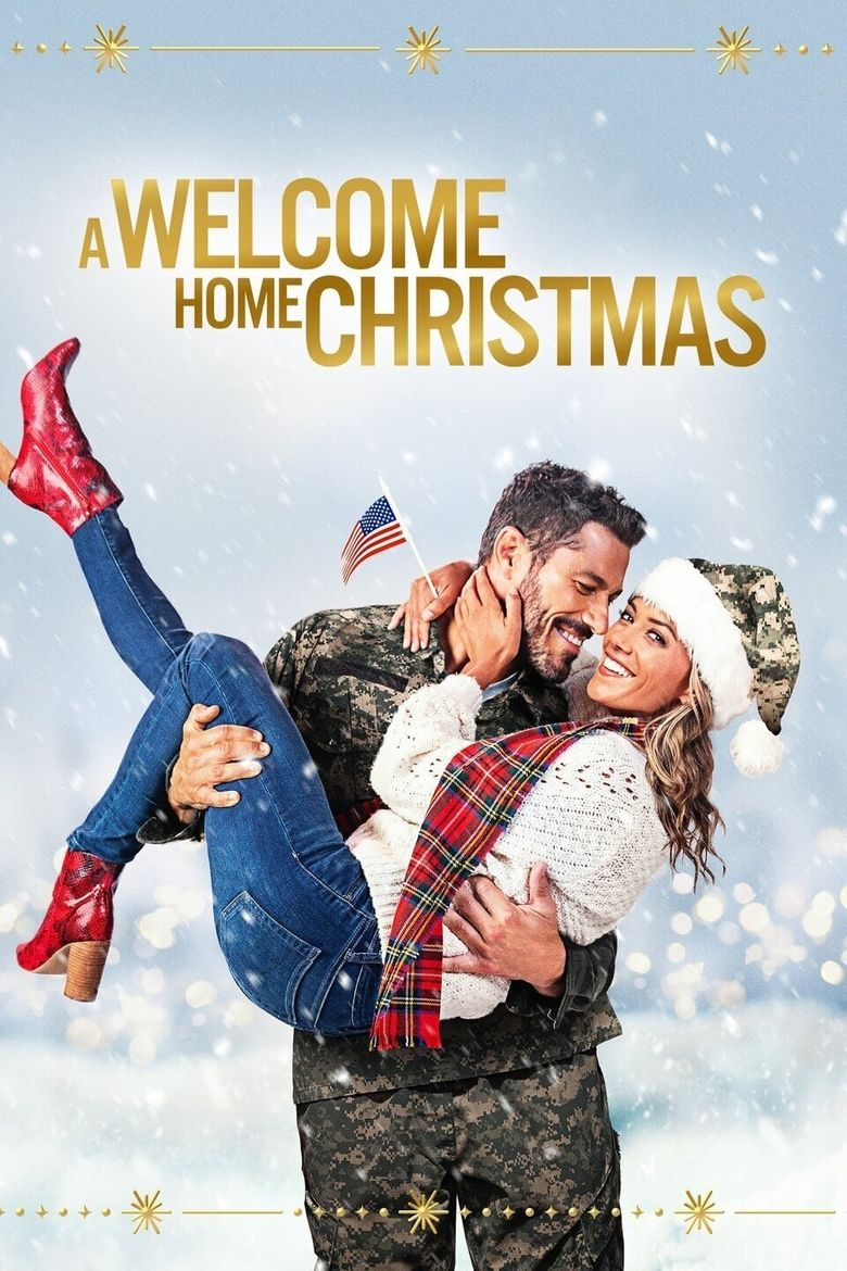 A Welcome Home Christmas Poster