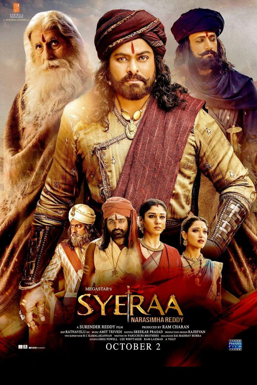 Sye Raa Narasimha Reddy Poster