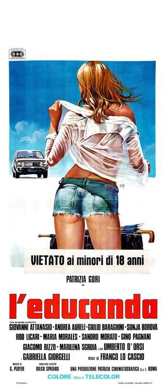 The Schoolgirl Poster