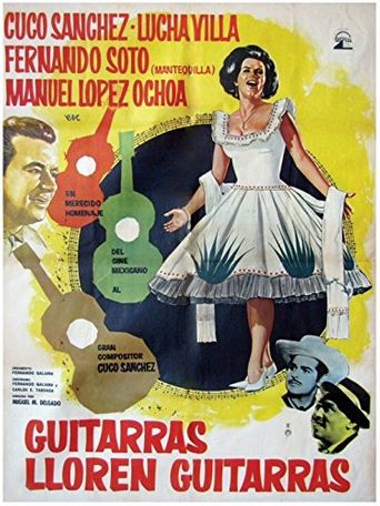 Guitarras lloren guitarras Poster