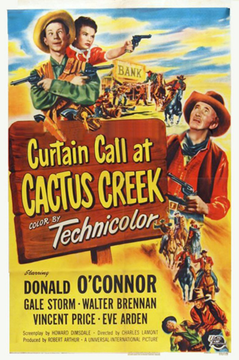 Curtain Call at Cactus Creek Poster