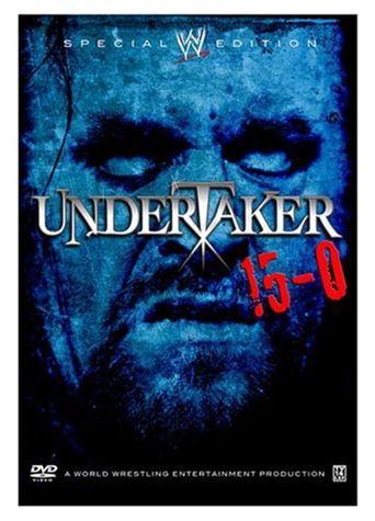 WWE Undertaker 15-0 Poster