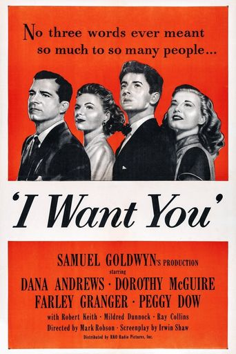 I Want You Poster