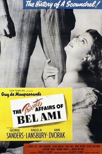 The Private Affairs of Bel Ami Poster