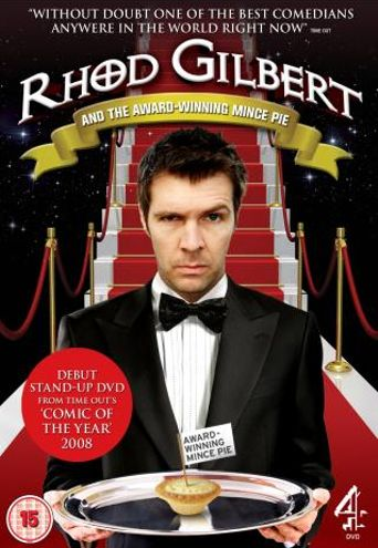 Rhod Gilbert and the Award-Winning Mince Pie Poster