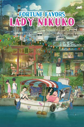 Fortune Favors Lady Nikuko Poster