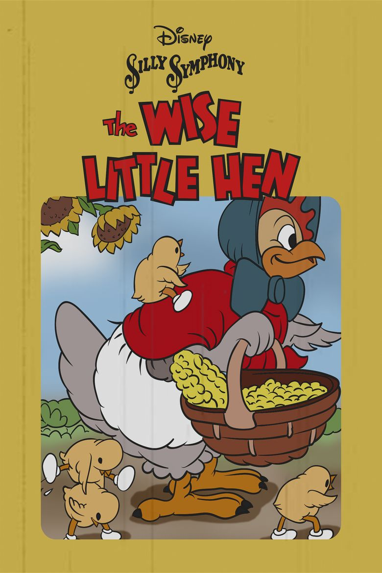 Donald Duck: The Wise Little Hen Poster