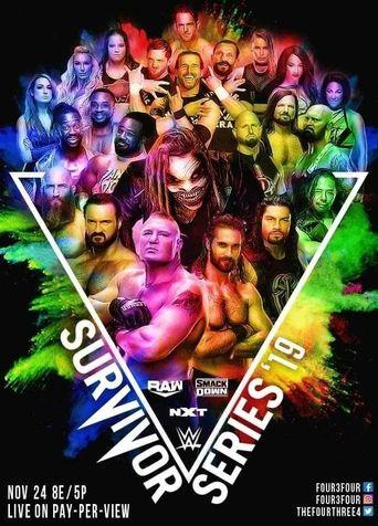 WWE Survivor Series 2019 Poster