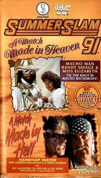 WWE SummerSlam 1991 Poster