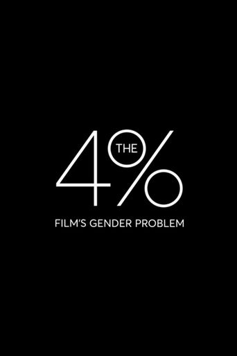 The 4%: Film's Gender Problem Poster
