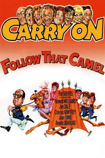 Carry On Follow That Camel Poster
