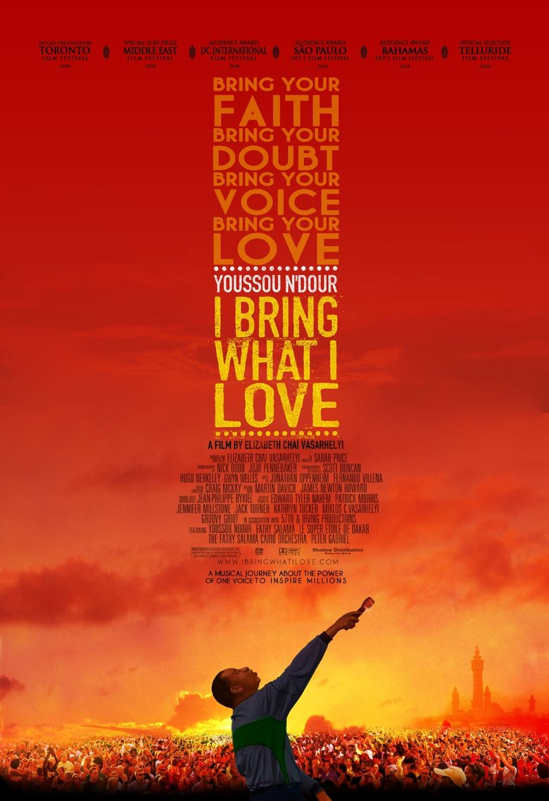 Youssou Ndour: I Bring What I Love Poster