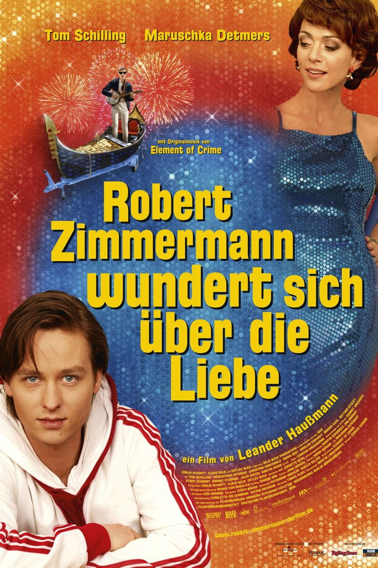 Robert Zimmermann Is Tangled Up in Love Poster