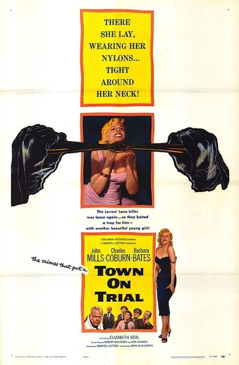Town on Trial Poster