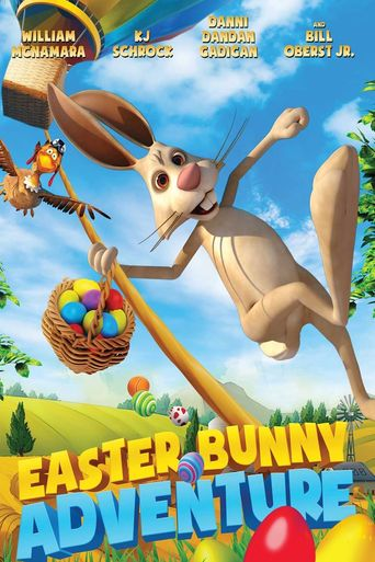 Easter Bunny Adventure Poster