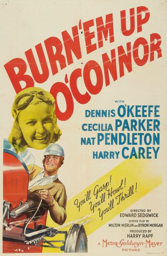 Burn 'Em Up O'Connor Poster