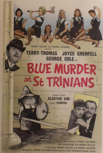 Blue Murder at St. Trinian's Poster