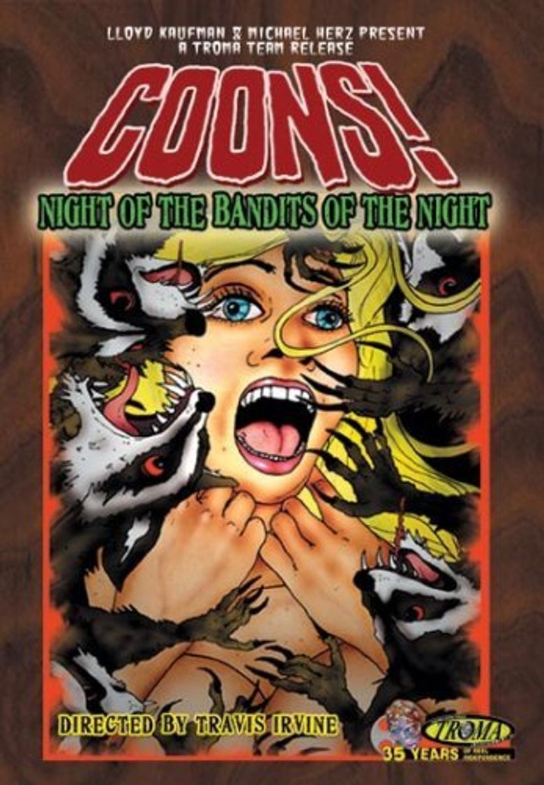 Coons! Night of the Bandits of the Night Poster