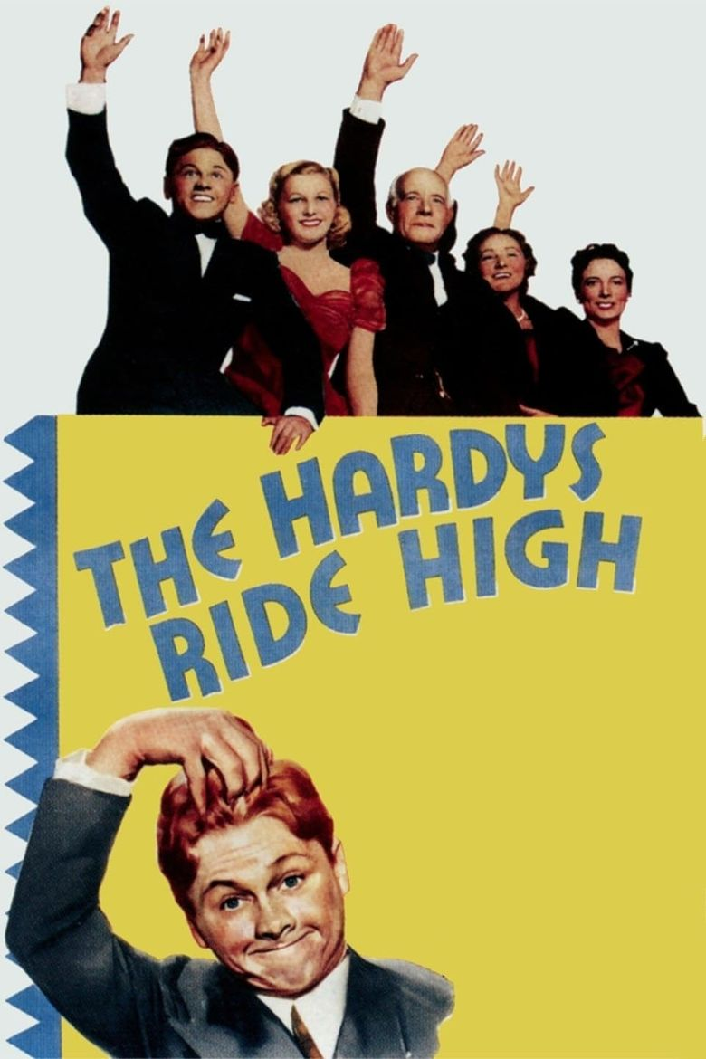 The Hardys Ride High Poster