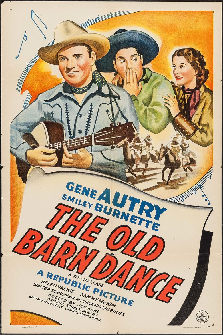 The Old Barn Dance Poster