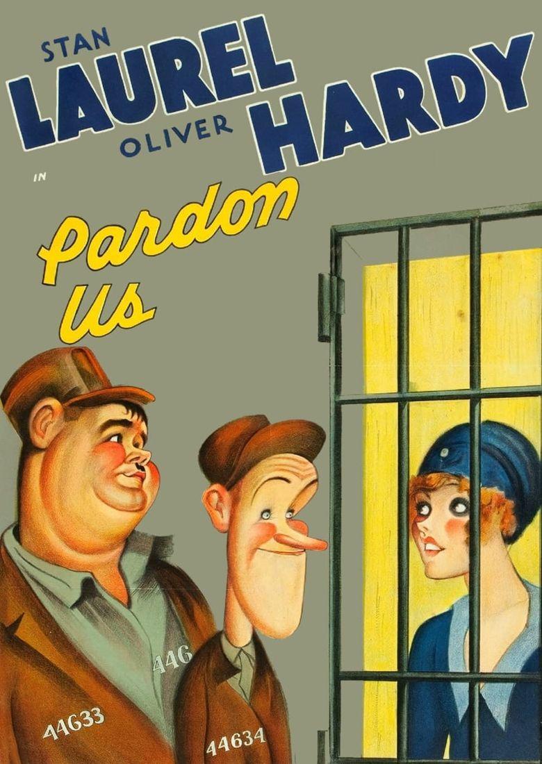 Pardon Us Poster