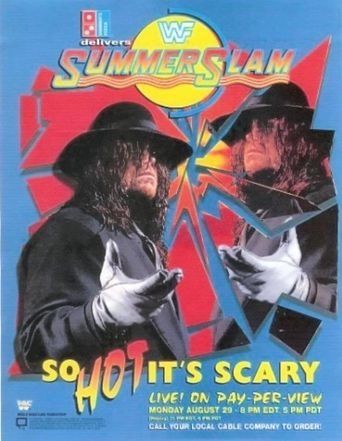 WWE SummerSlam 1994 Poster