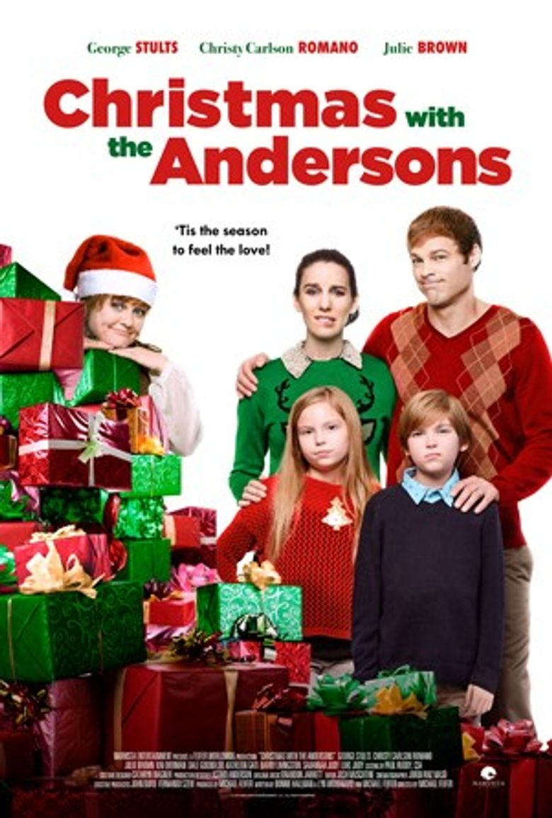 Christmas with the Andersons Poster
