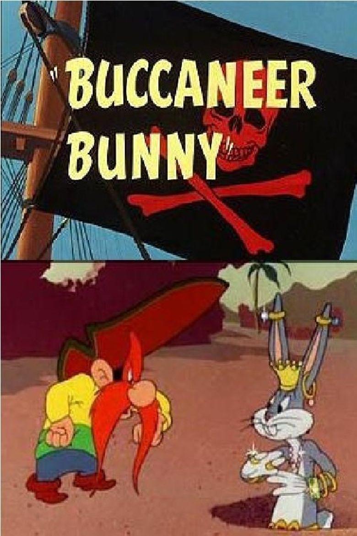 Buccaneer Bunny Poster