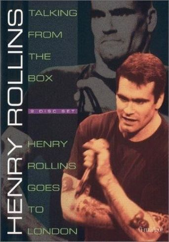 Henry Rollins: Talking From The Box Poster