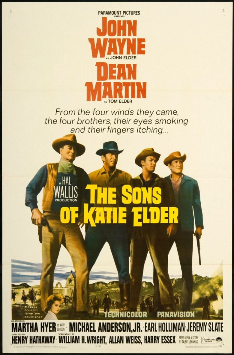 The Sons of Katie Elder Poster