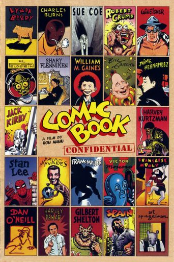 Comic Book Confidential Poster