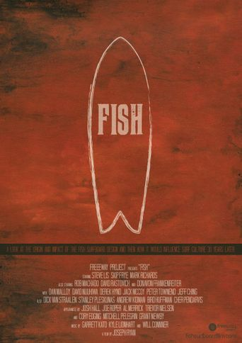 Fish: The Surfboard Documentary Poster