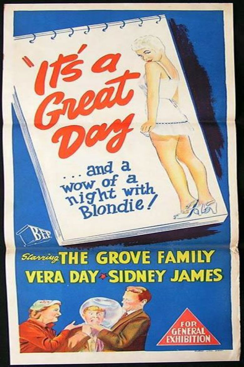 It's a Great Day Poster