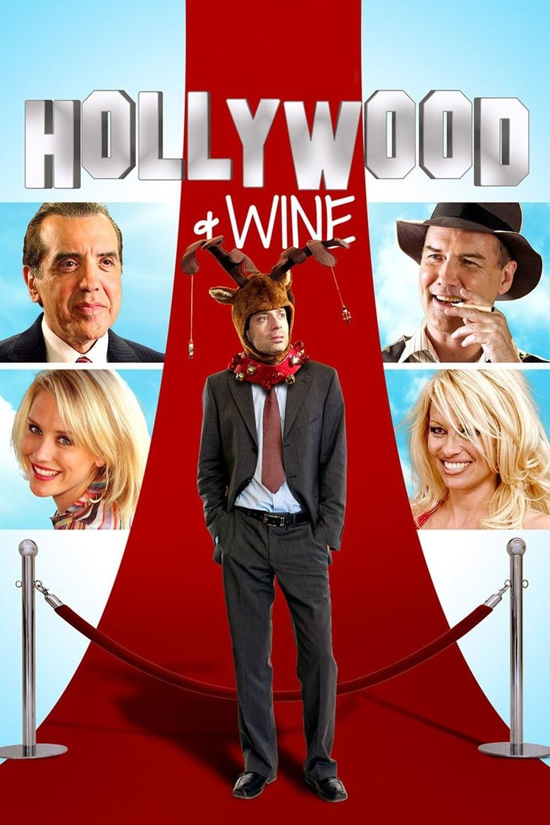 Hollywood & Wine Poster