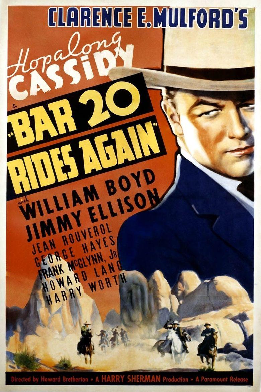 Bar 20 Rides Again Poster