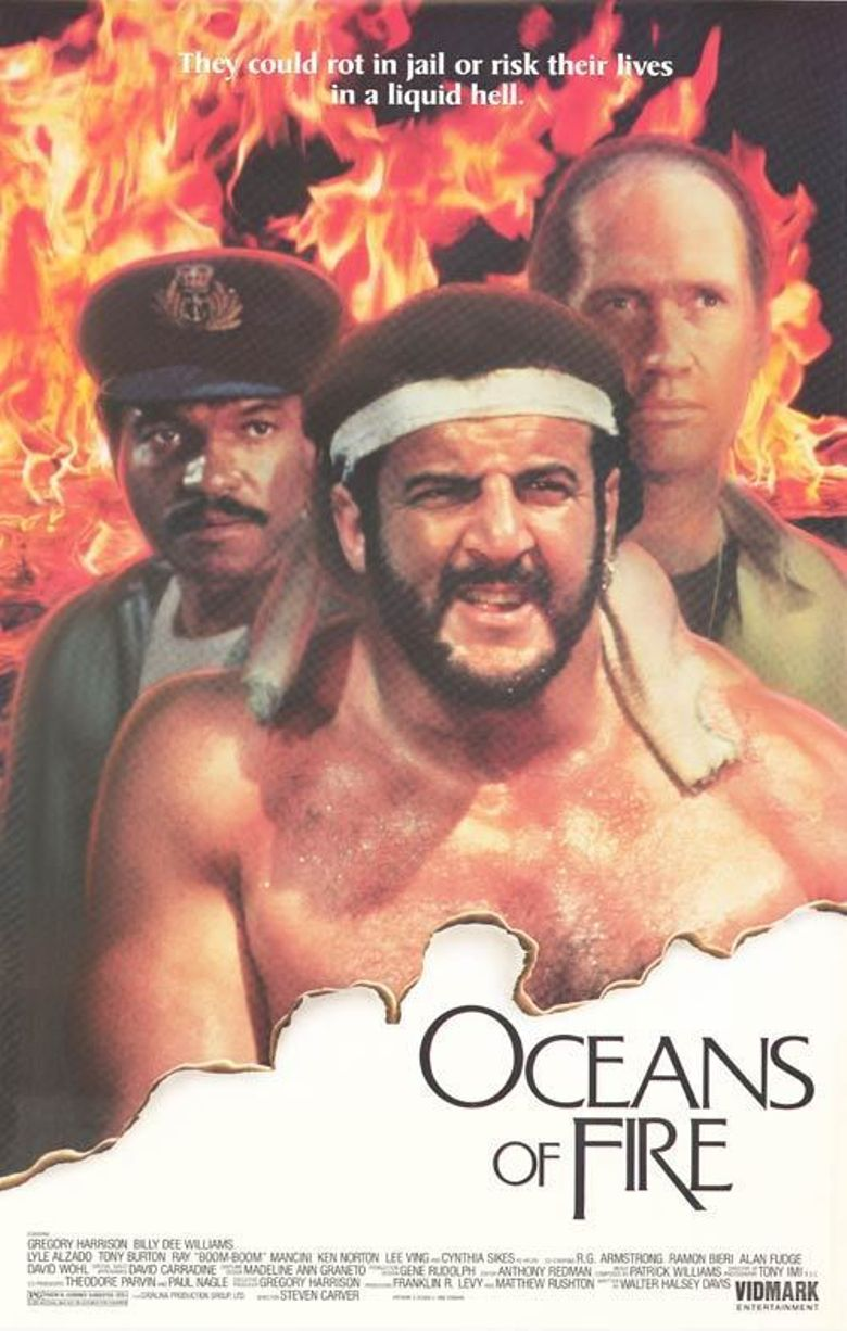 Oceans of Fire Poster