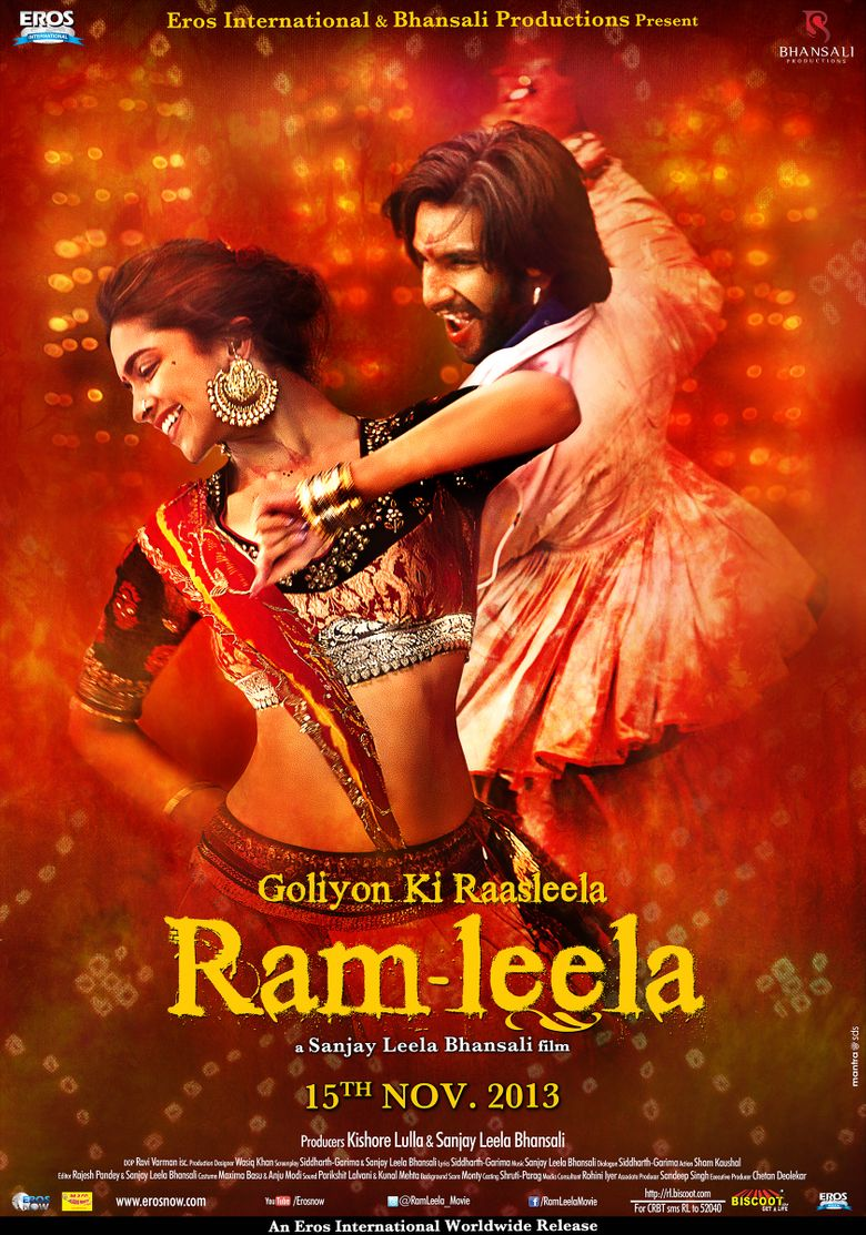 Goliyon Ki Raasleela Ram-Leela Poster