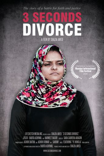 3 Seconds Divorce Poster