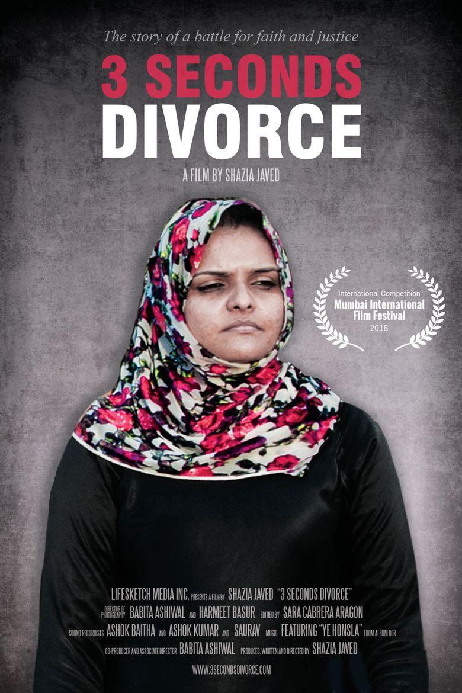 3 Seconds Divorce Poster