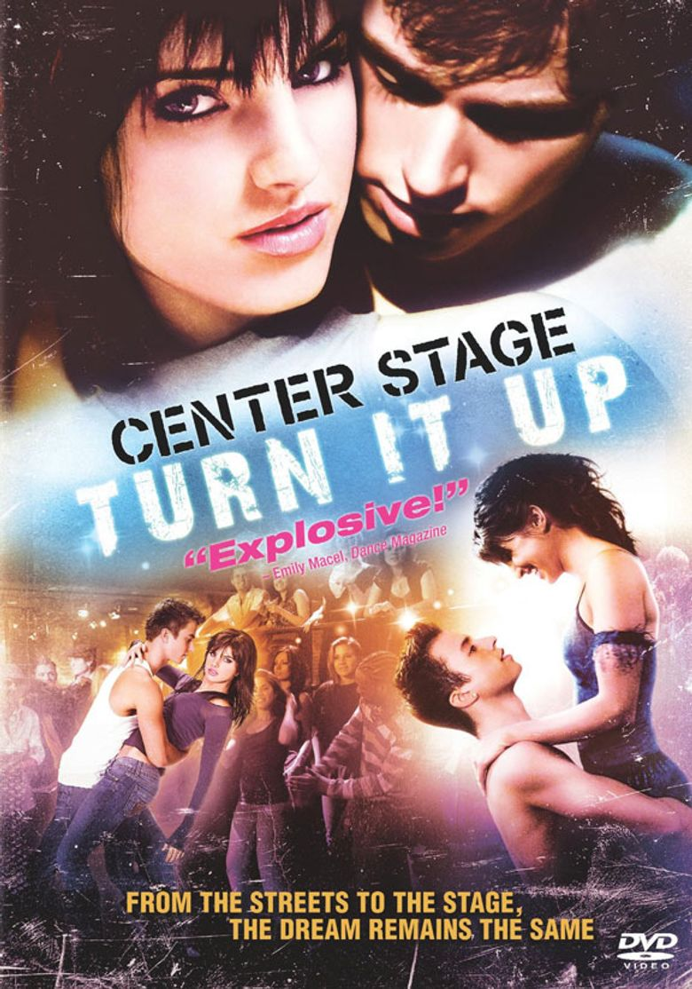 Center Stage : Turn It Up Poster