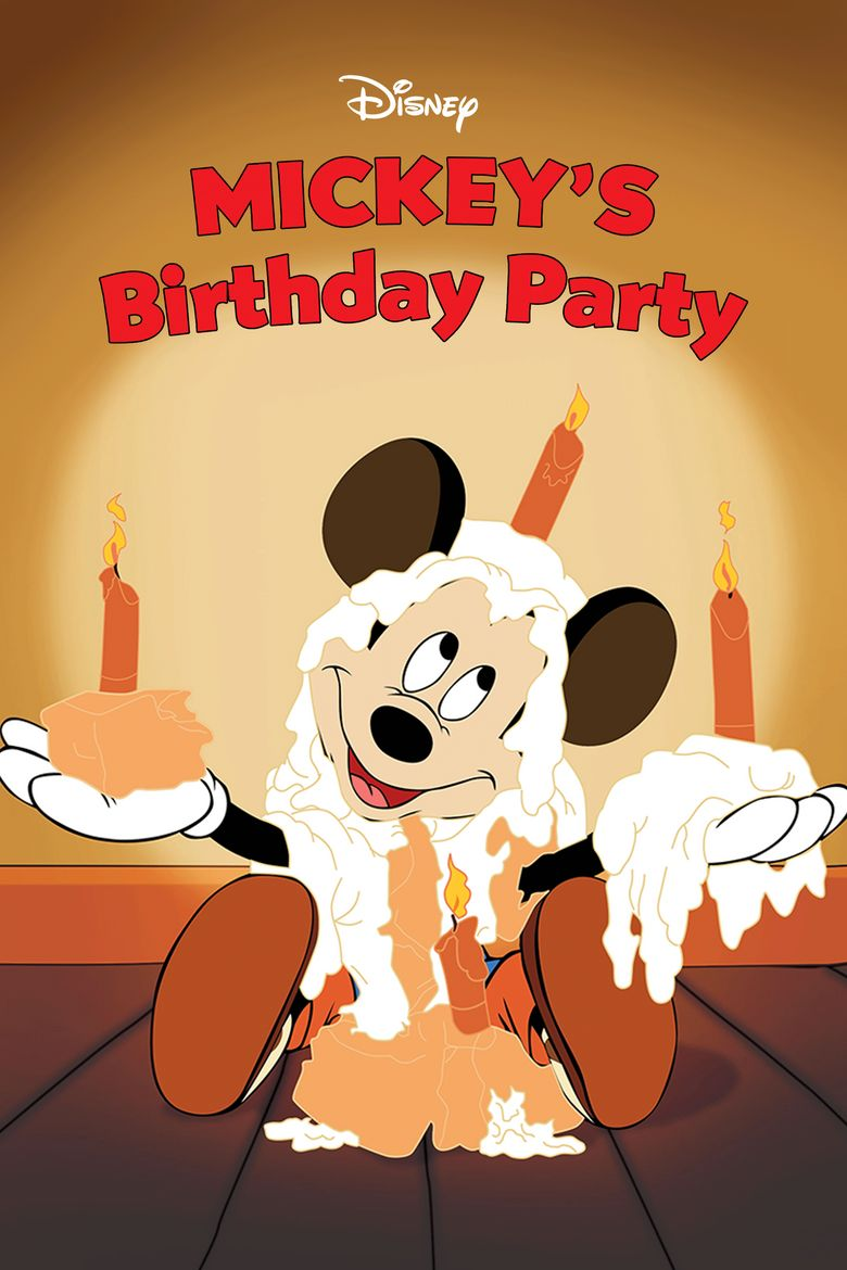Mickey's Birthday Party Poster
