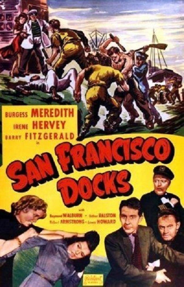 San Francisco Docks Poster