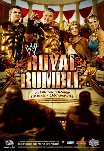 WWE Royal Rumble 2006 Poster