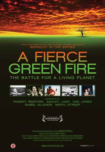 A Fierce Green Fire Poster