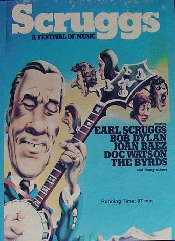Scruggs: A Festival of Music Poster
