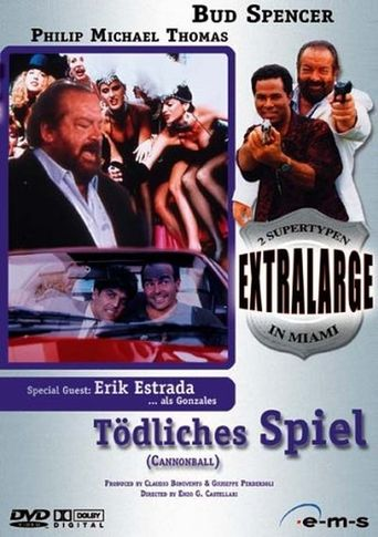 Extralarge: Cannonball Poster