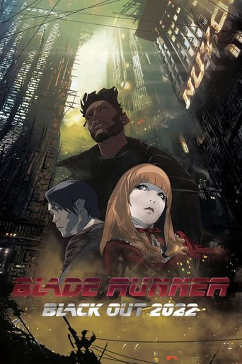 Blade Runner: Black Out 2022 Poster