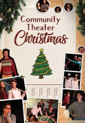 Community Theater Christmas Poster